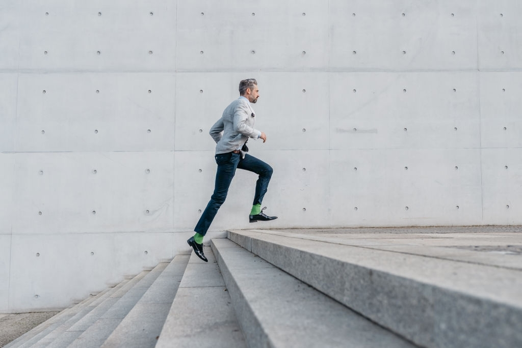 business, sports, running, energy, concepts, stairs, concrete, architecture,